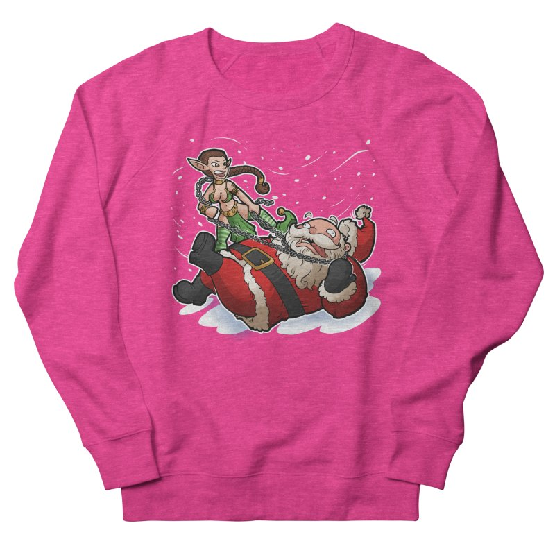 Santa the Hutt Men's French Terry Sweatshirt by Marty's Artist Shop