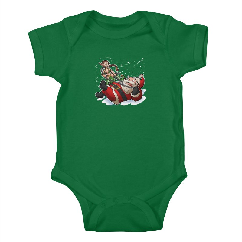 Santa the Hutt Kids Baby Bodysuit by Marty's Artist Shop