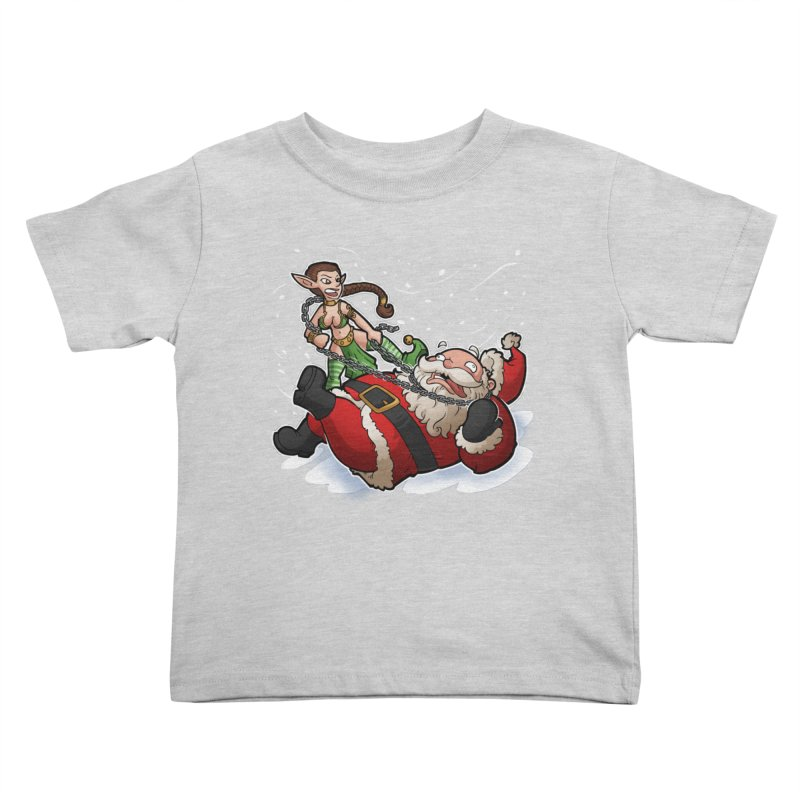 Santa the Hutt Kids Toddler T-Shirt by Marty's Artist Shop