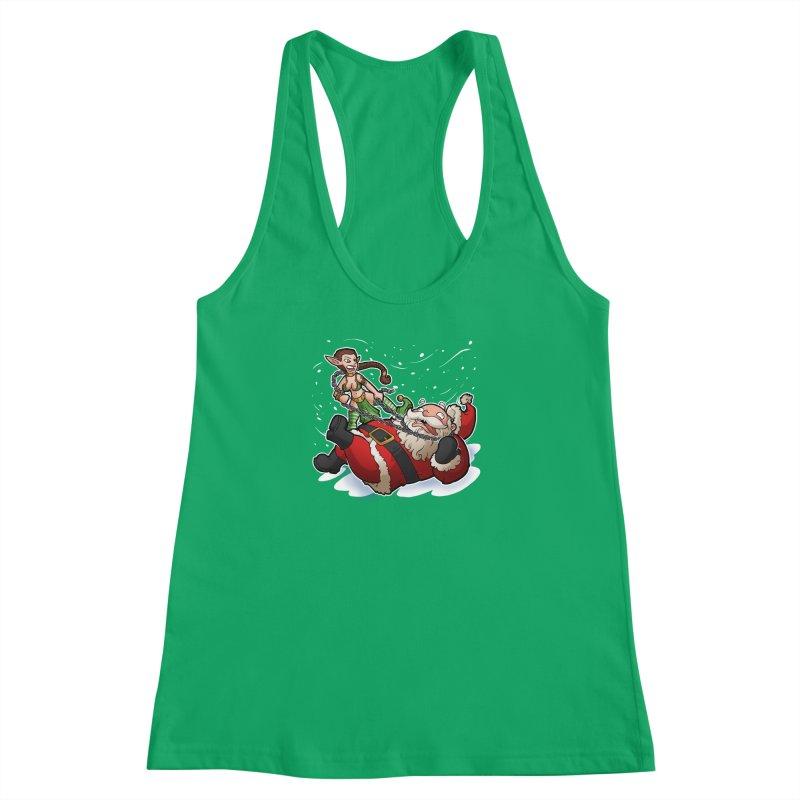 Santa the Hutt Women's Racerback Tank by Marty's Artist Shop