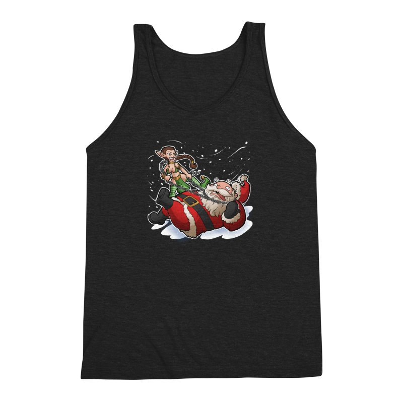 Santa the Hutt Men's Triblend Tank by Marty's Artist Shop