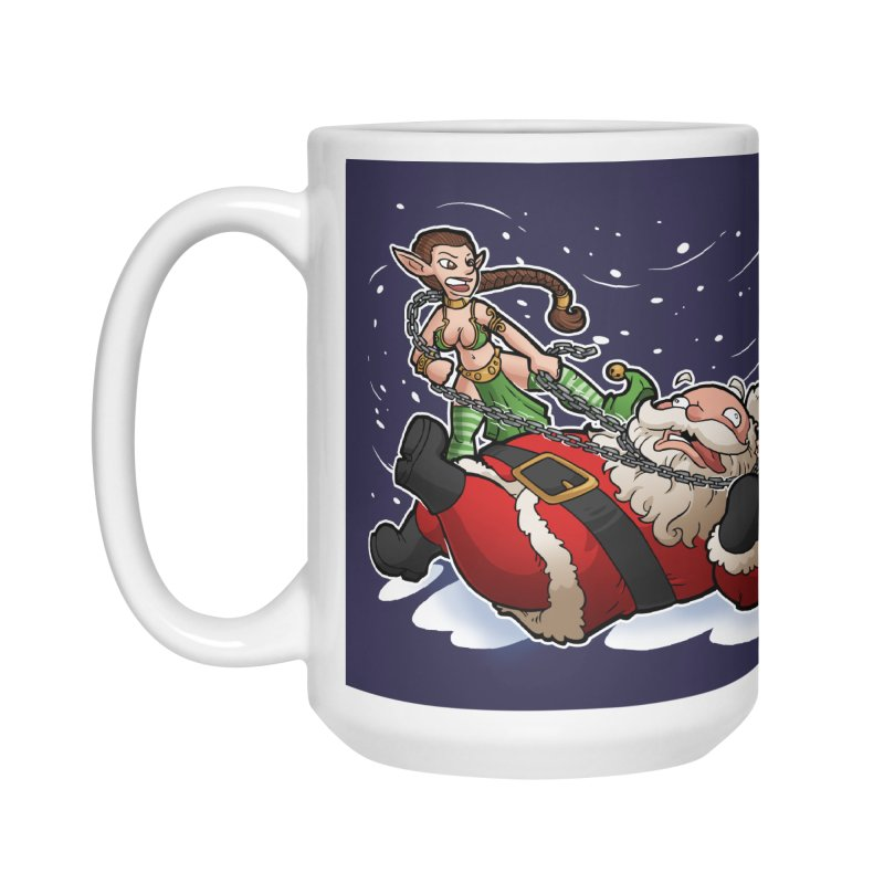Santa the Hutt Accessories Mug by Marty's Artist Shop