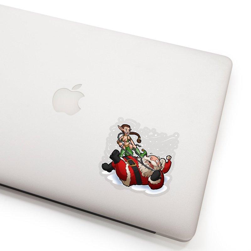 Santa the Hutt Accessories Sticker by Marty's Artist Shop