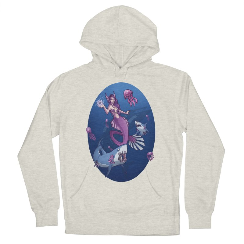 The Mermaid Queen Men's Pullover Hoody by Marty's Artist Shop