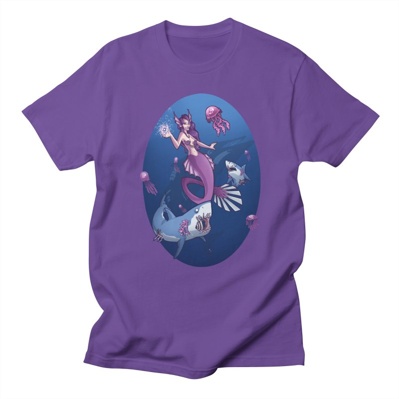 The Mermaid Queen Men's T-Shirt by Marty's Artist Shop