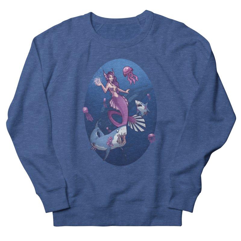 The Mermaid Queen Men's Sweatshirt by Marty's Artist Shop