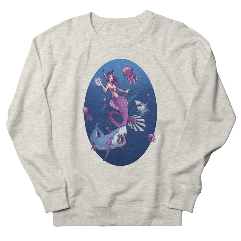The Mermaid Queen Men's Sweatshirt by Marty's Artist Shop