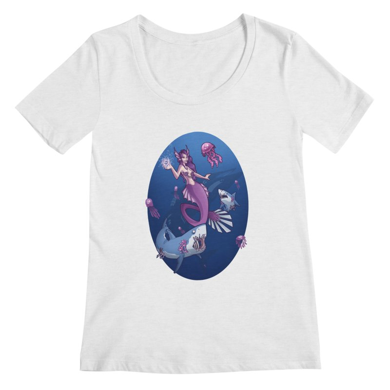The Mermaid Queen   by Marty's Artist Shop