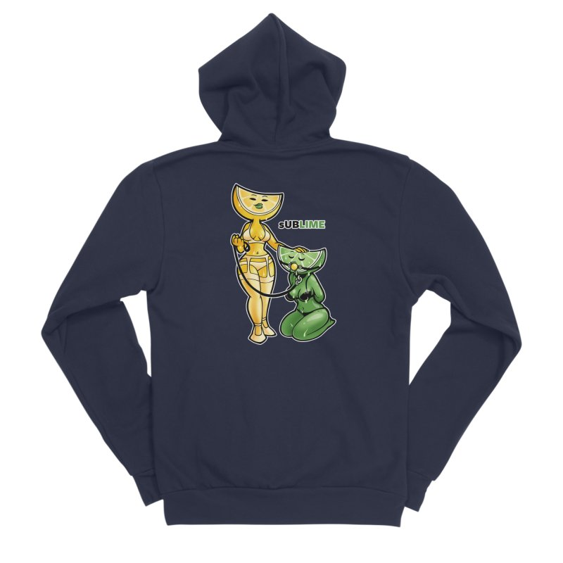 sUBLIME Men's Sponge Fleece Zip-Up Hoody by Marty's Artist Shop
