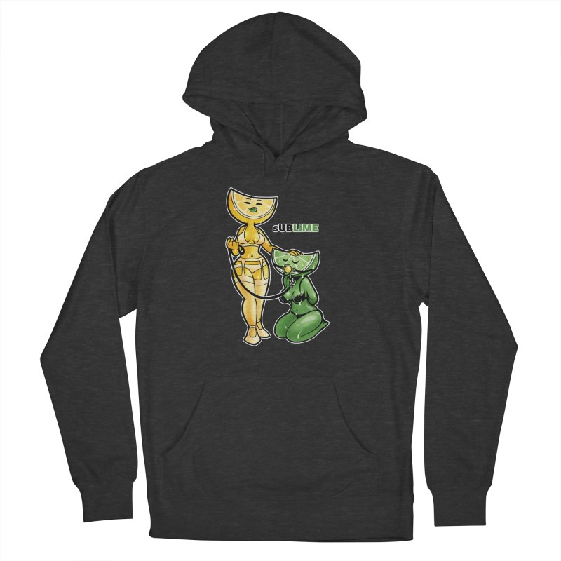 sUBLIME Men's French Terry Pullover Hoody by Marty's Artist Shop