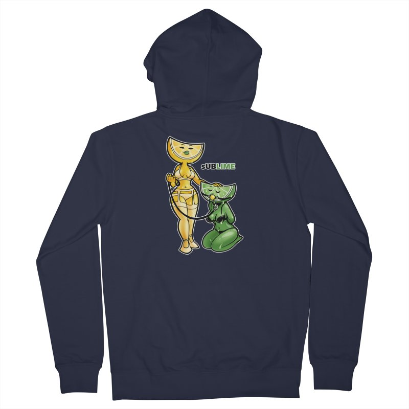 sUBLIME Women's French Terry Zip-Up Hoody by Marty's Artist Shop