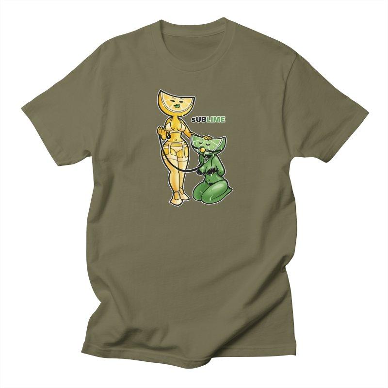 sUBLIME Men's Regular T-Shirt by Marty's Artist Shop