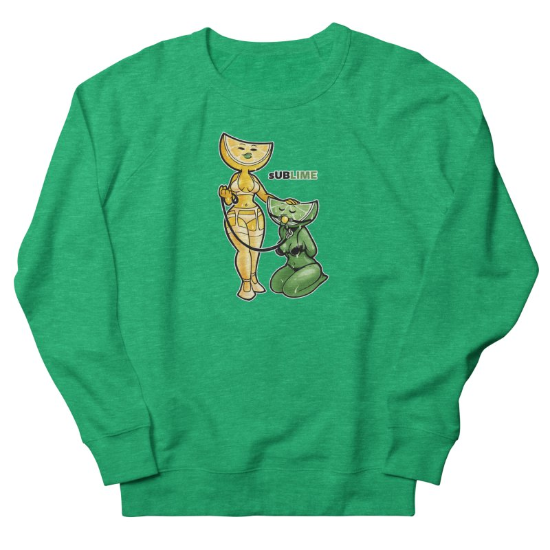 sUBLIME Women's French Terry Sweatshirt by Marty's Artist Shop