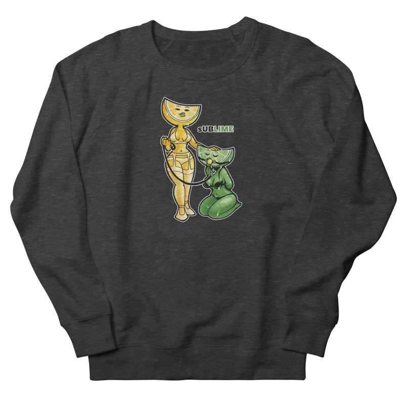 sUBLIME Men's French Terry Sweatshirt by Marty's Artist Shop