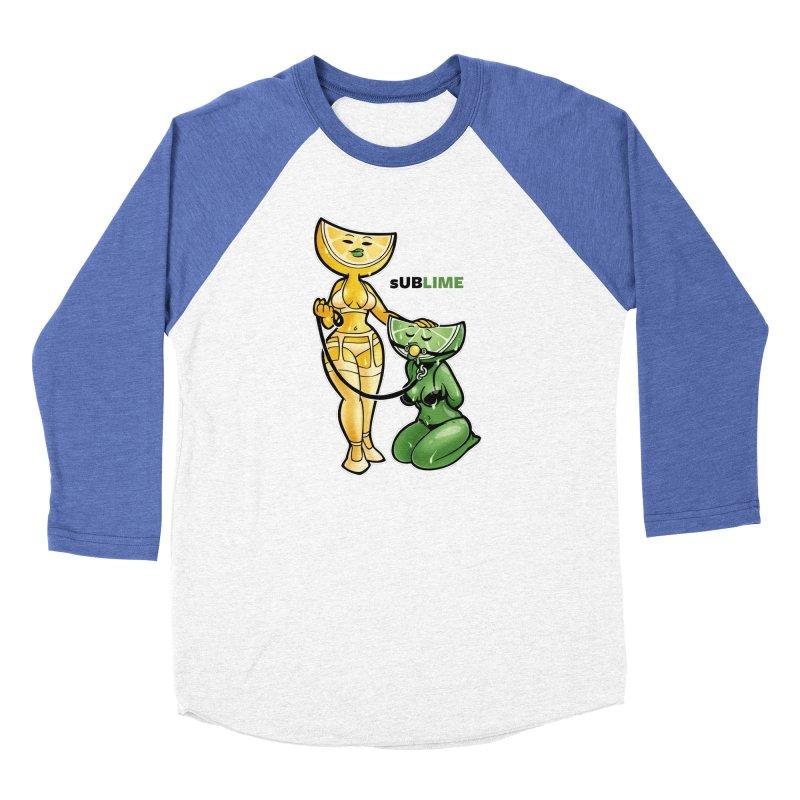 sUBLIME Men's Baseball Triblend Longsleeve T-Shirt by Marty's Artist Shop