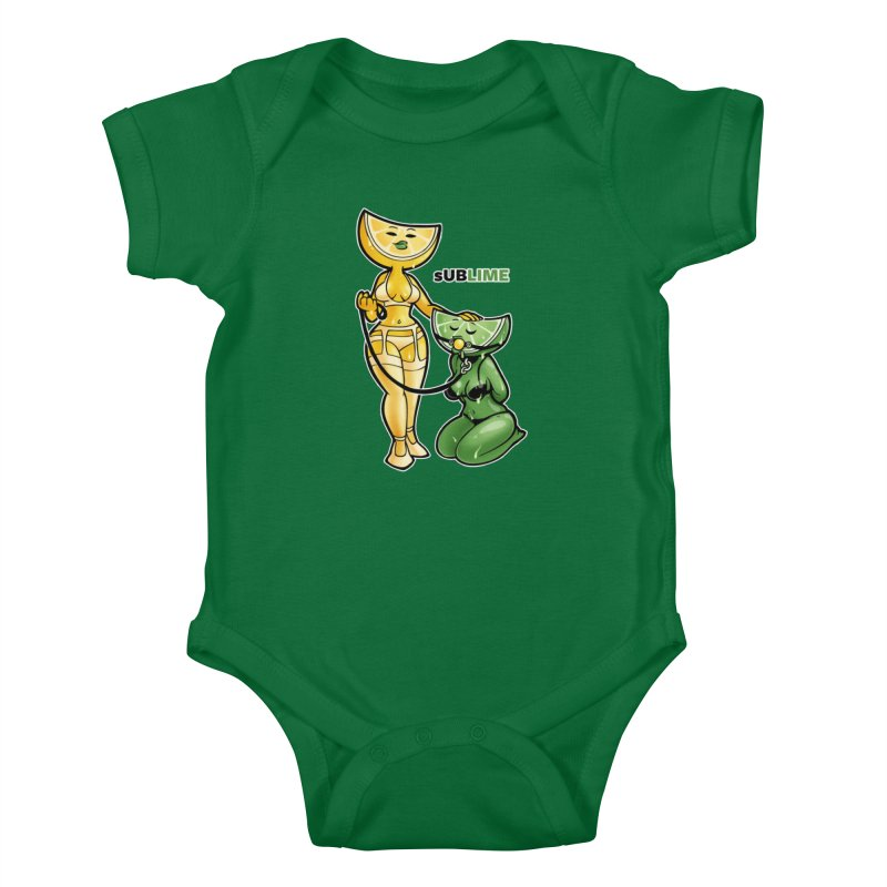 sUBLIME Kids Baby Bodysuit by Marty's Artist Shop