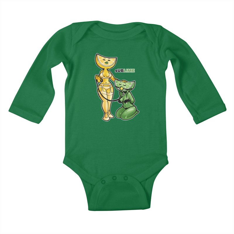 sUBLIME Kids Baby Longsleeve Bodysuit by Marty's Artist Shop