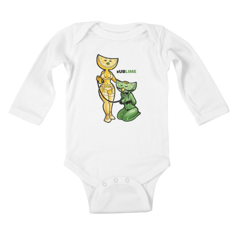 sUBLIME Kids Baby Longsleeve Bodysuit by Marty's Artist Shop