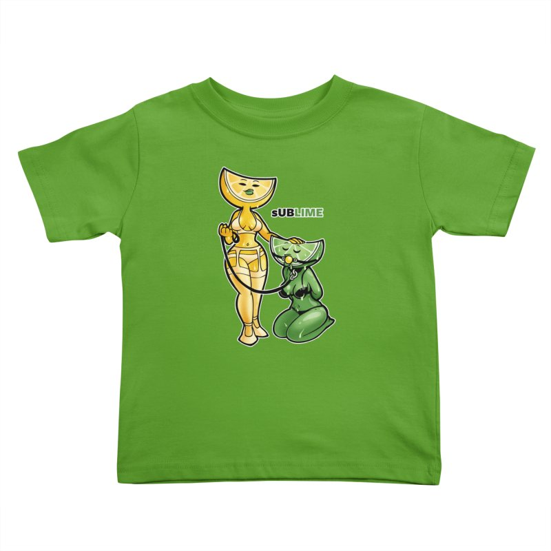 sUBLIME Kids Toddler T-Shirt by Marty's Artist Shop