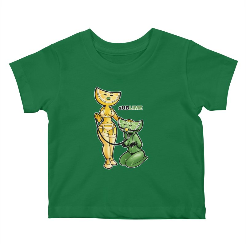 sUBLIME Kids Baby T-Shirt by Marty's Artist Shop