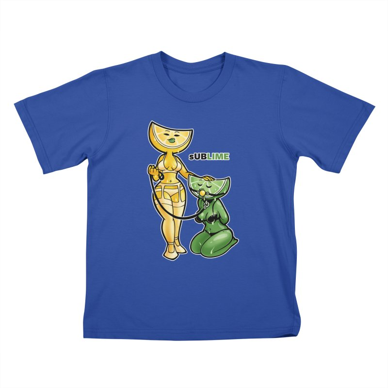 sUBLIME Kids T-Shirt by Marty's Artist Shop