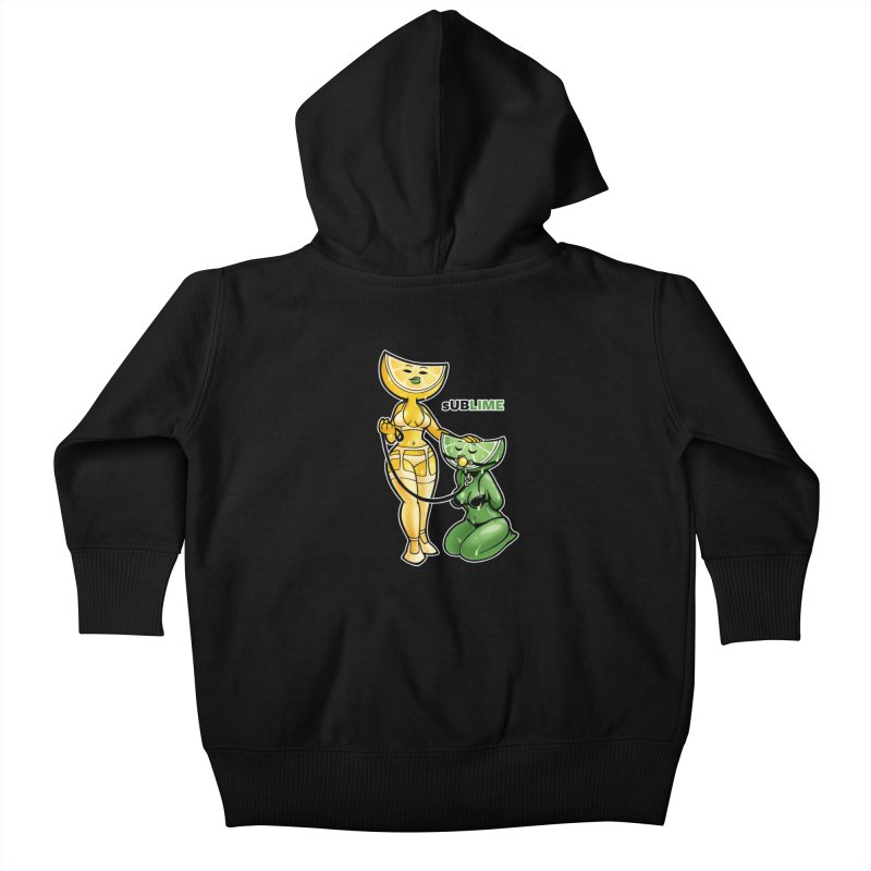 sUBLIME Kids Baby Zip-Up Hoody by Marty's Artist Shop