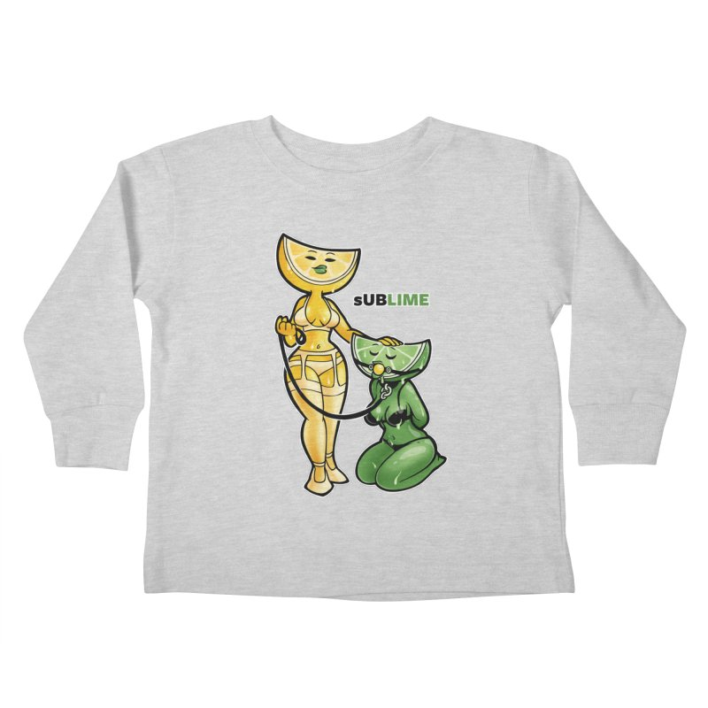 sUBLIME Kids Toddler Longsleeve T-Shirt by Marty's Artist Shop