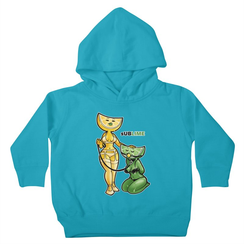sUBLIME Kids Toddler Pullover Hoody by Marty's Artist Shop