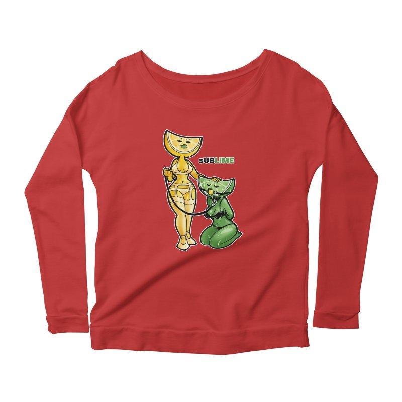 sUBLIME Women's Scoop Neck Longsleeve T-Shirt by Marty's Artist Shop