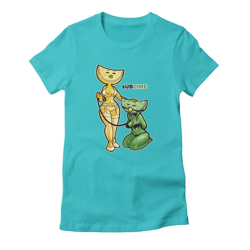 sUBLIME Women's Fitted T-Shirt by Marty's Artist Shop