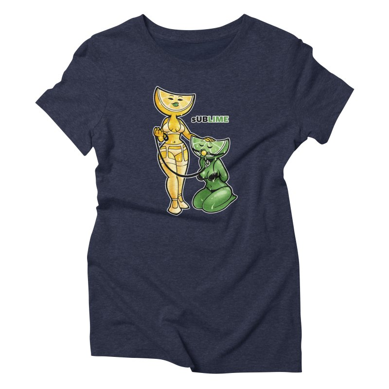 sUBLIME Women's Triblend T-Shirt by Marty's Artist Shop
