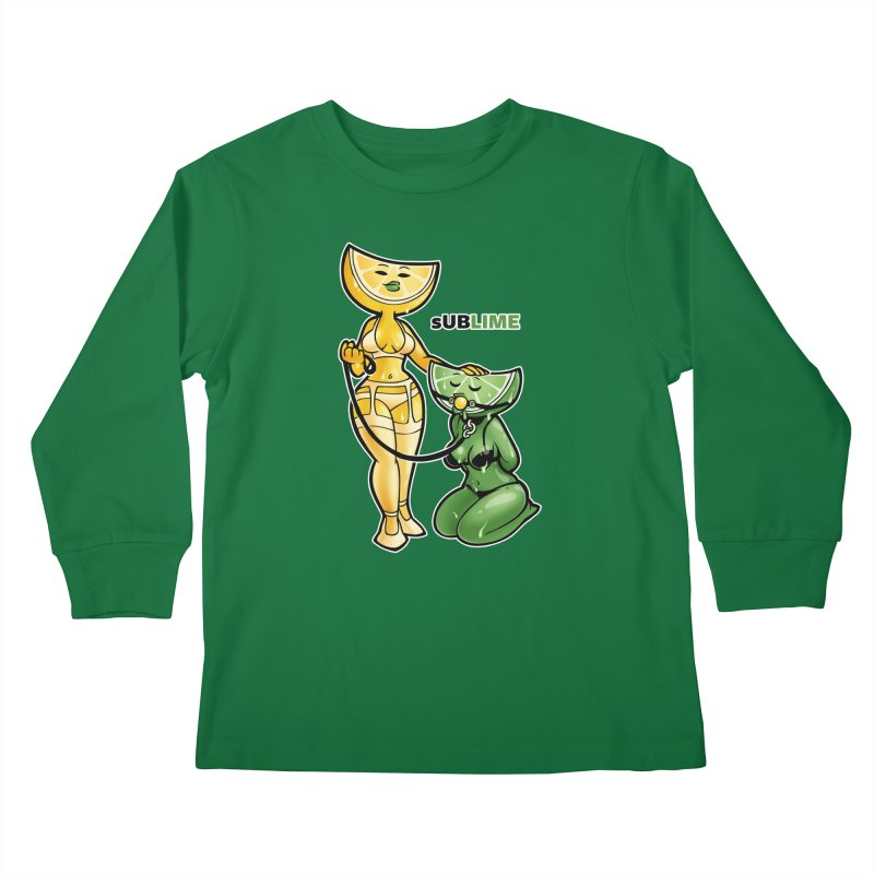 sUBLIME Kids Longsleeve T-Shirt by Marty's Artist Shop
