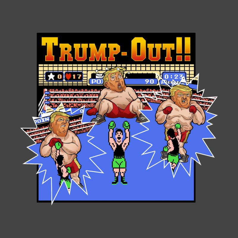 Trump-Out!! Women's Fitted T-Shirt by Marty's Artist Shop