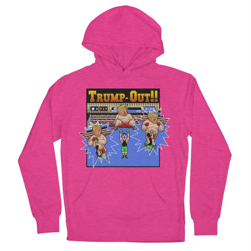Trump-Out!! Women's Pullover Hoody by Marty's Artist Shop