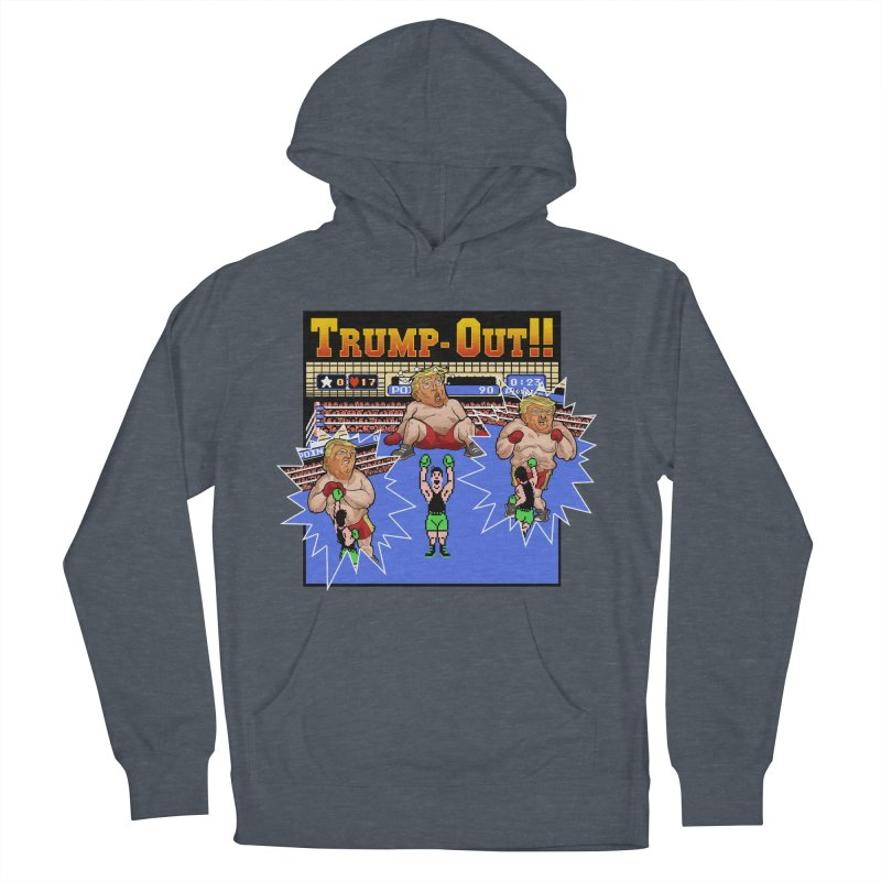 Trump-Out!! Men's Pullover Hoody by Marty's Artist Shop