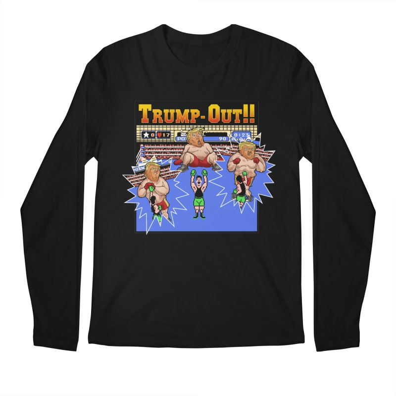 Trump-Out!! Men's Longsleeve T-Shirt by Marty's Artist Shop