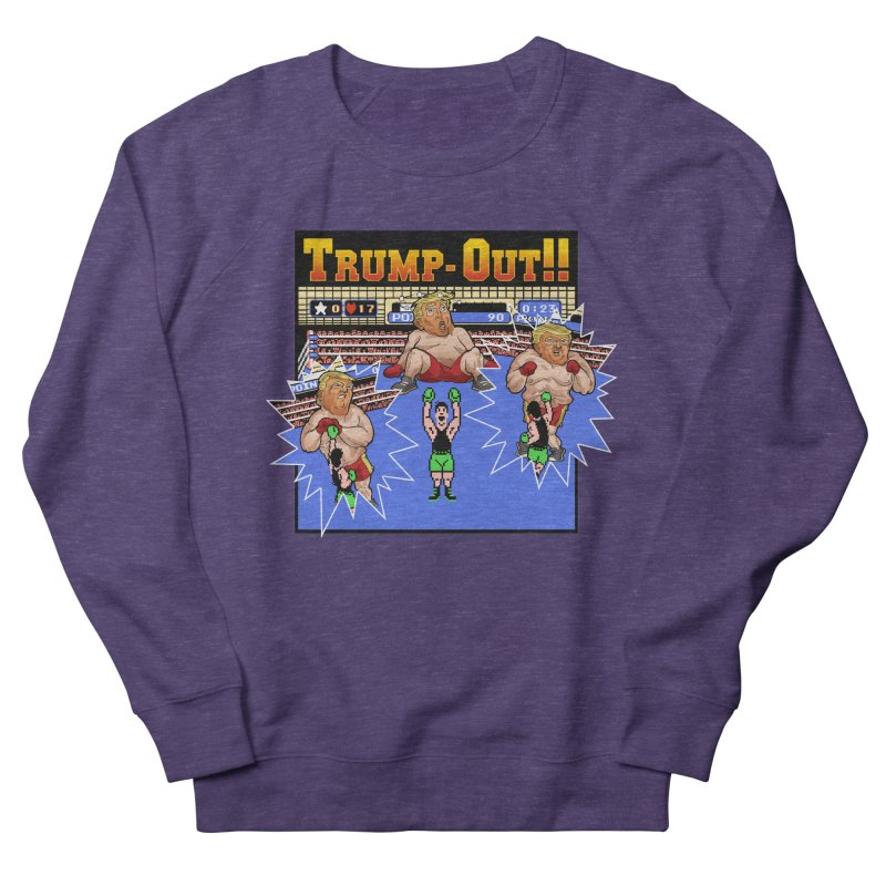 Trump-Out!! Men's Sweatshirt by Marty's Artist Shop