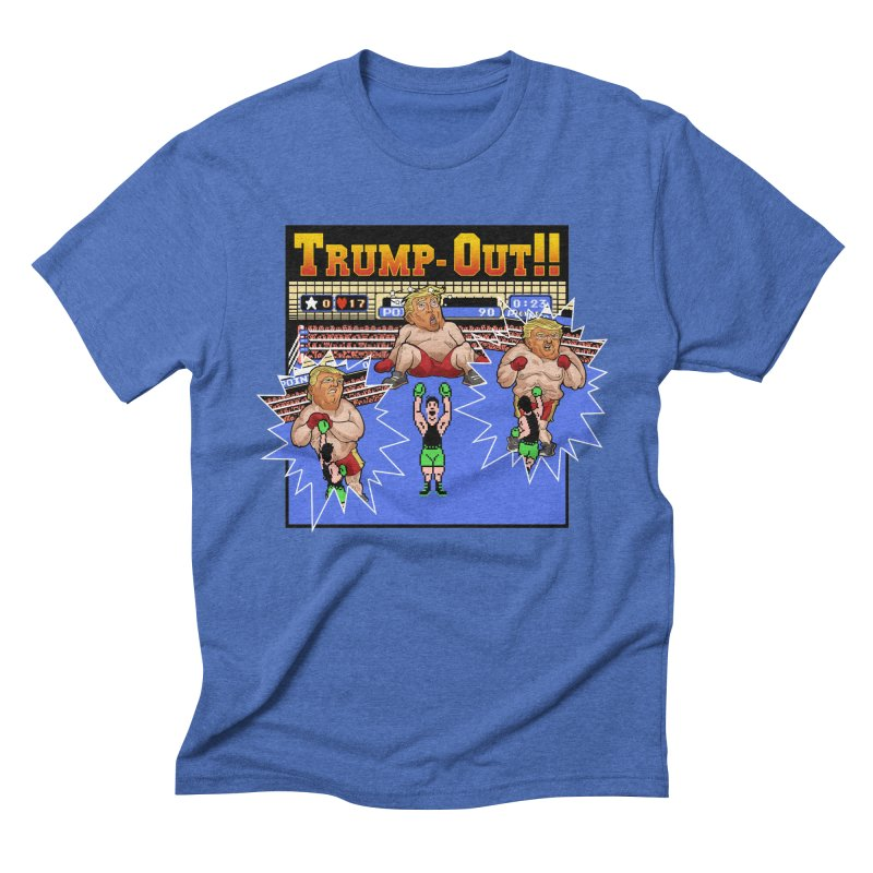 Trump-Out!! Men's Triblend T-Shirt by Marty's Artist Shop