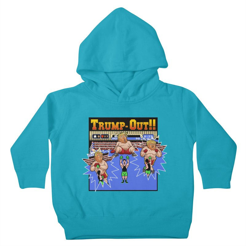 Trump-Out!! Kids Toddler Pullover Hoody by Marty's Artist Shop