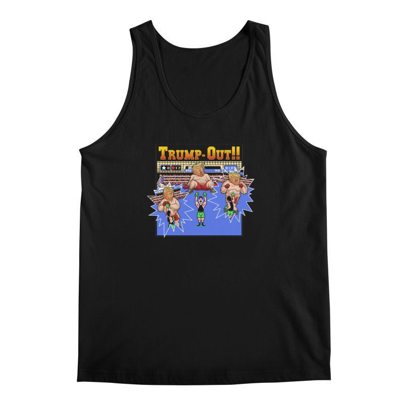 Trump-Out!! Men's Regular Tank by Marty's Artist Shop