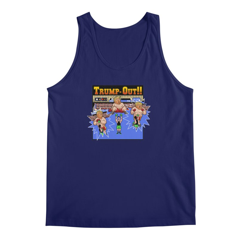 Trump-Out!! Men's Tank by Marty's Artist Shop