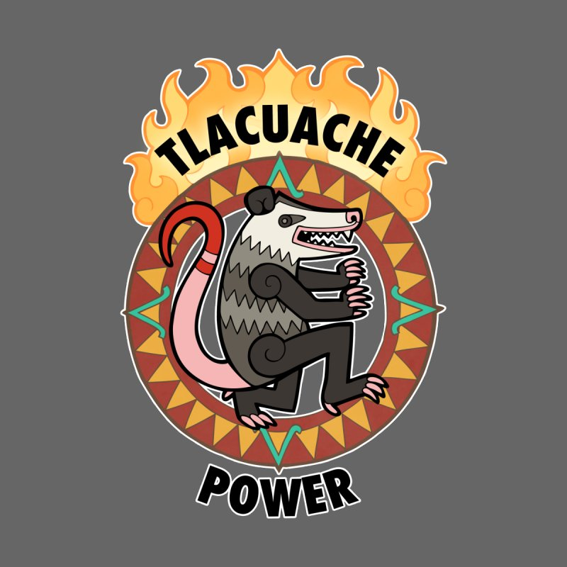 Tlacuache Power Men's Zip-Up Hoody by Marty's Artist Shop