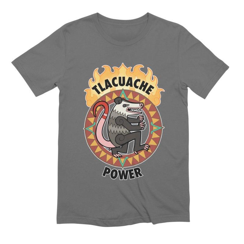 Tlacuache Power Men's T-Shirt by Marty's Artist Shop