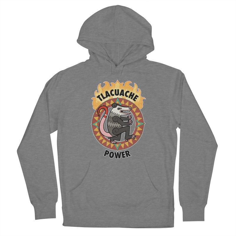 Tlacuache Power Women's Pullover Hoody by Marty's Artist Shop