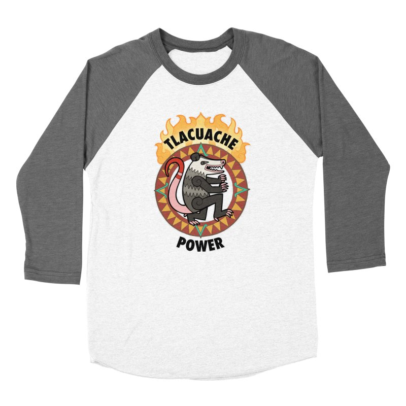 Tlacuache Power Women's Longsleeve T-Shirt by Marty's Artist Shop