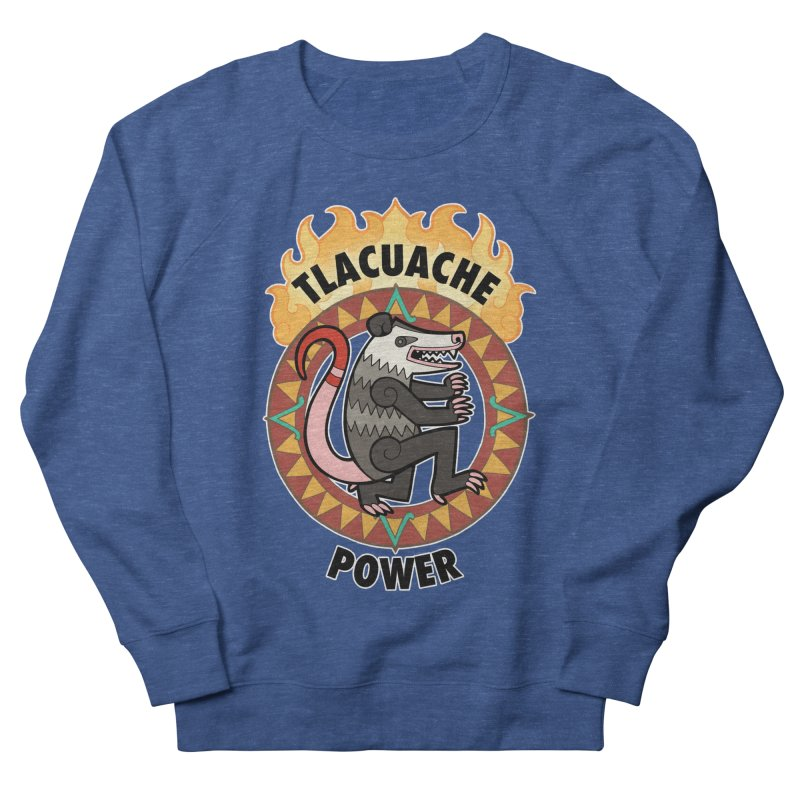 Tlacuache Power Men's Sweatshirt by Marty's Artist Shop