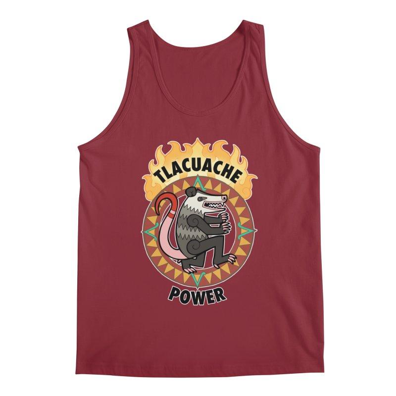 Tlacuache Power Men's Tank by Marty's Artist Shop