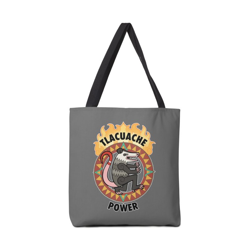 Tlacuache Power Accessories Tote Bag Bag by Marty's Artist Shop