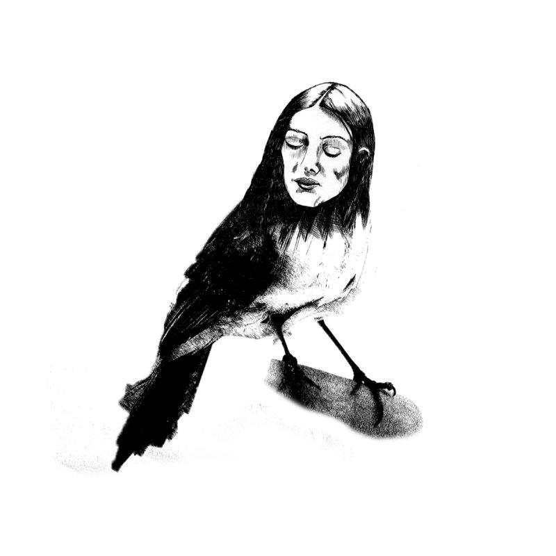 Bird Lady by marv42's Artist Shop
