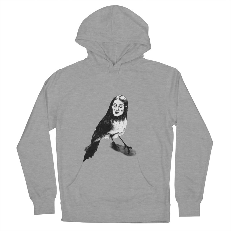 Bird Lady Women's Pullover Hoody by marv42's Artist Shop